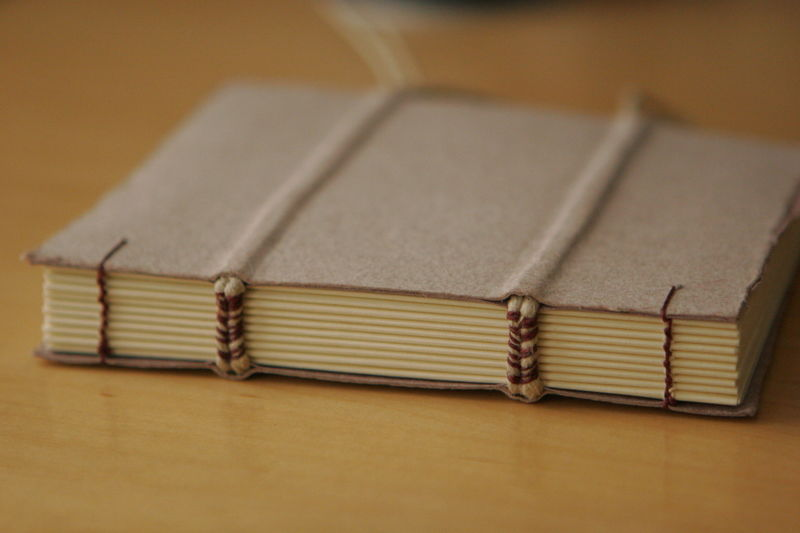 exposed book binding class